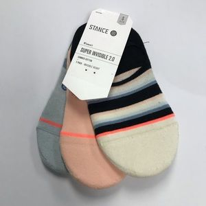 Stance Accessories - Stance 3PK Women's No Show Socks.
